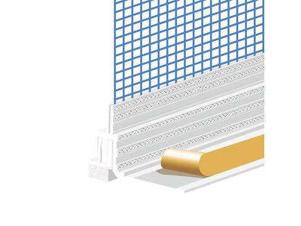 Fensteranschlussprofil Duo G6
