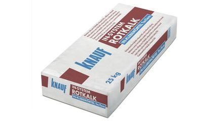 Rotkalk in-Klebemörtel TecTem®