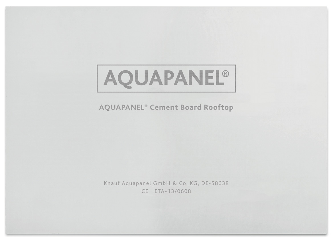 AQUAPANEL® Cement Board Rooftop 6 mm