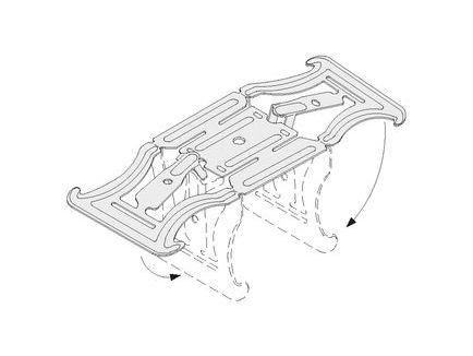 Kreuzverbinder für UA- mit CD-Profil