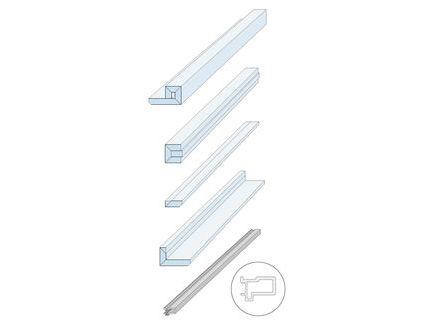 Sehr Knauf - Zargenlose Türlaibung Pocket Kit für Holztürblatt ZG28