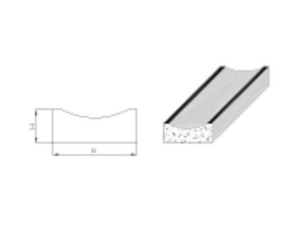 Dehnscheiben für Muldensteine 10 mm