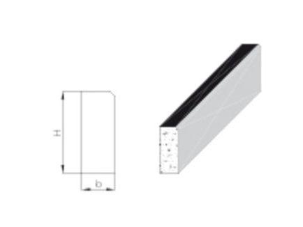 Dehnscheiben für Tiefbordsteine 10 mm