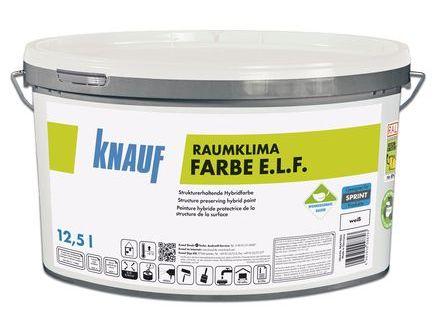 Knauf - Raumklima Farbe E.L.F.