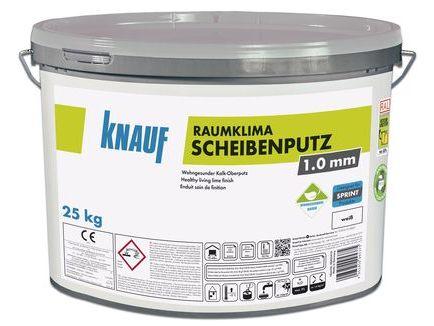 Raumklima Scheibenputz