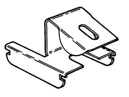 Stutzen-Clip