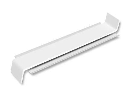 Perfex Aluminium-Stoßverbinder weiß