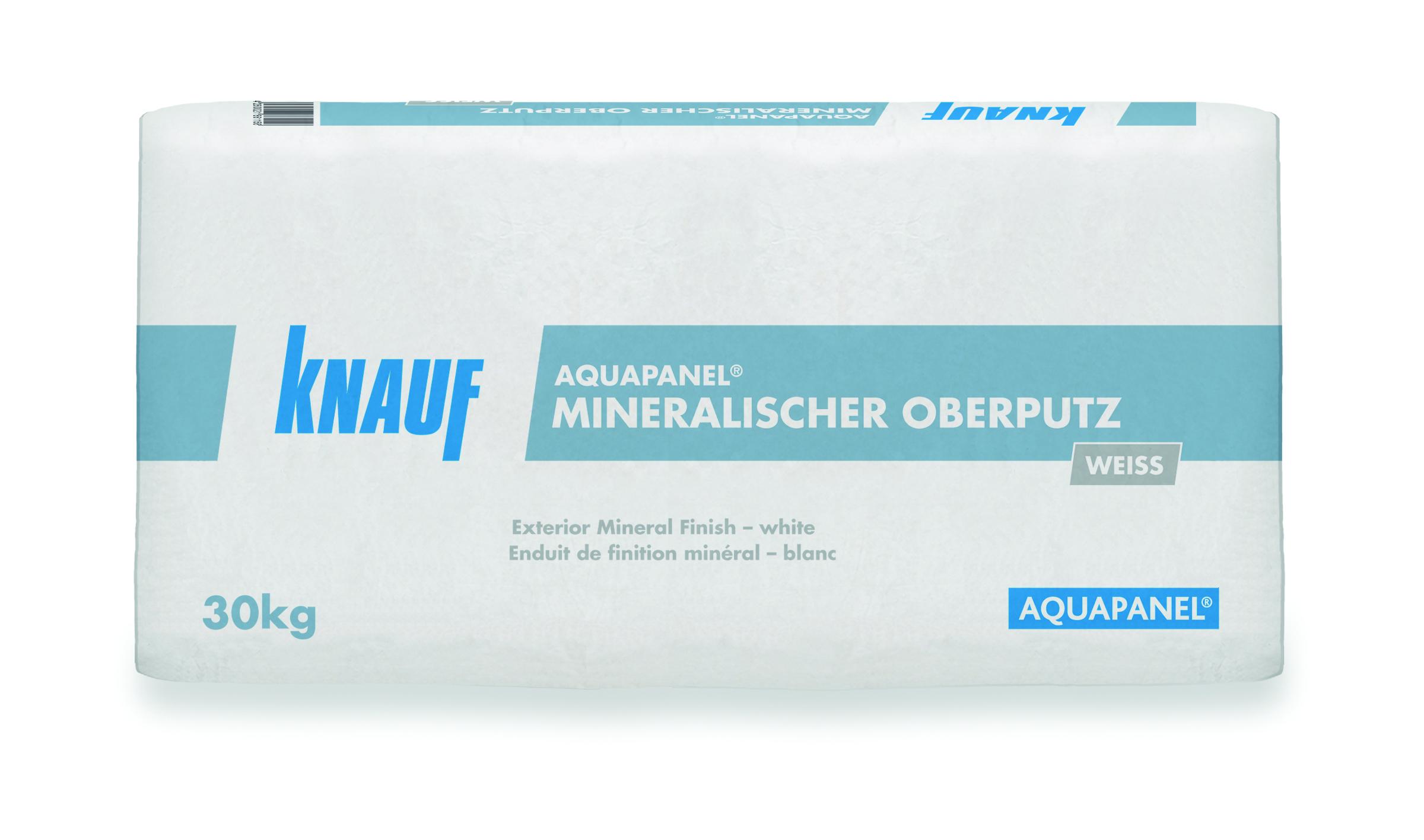 AQUAPANEL® Exterior Mineral Finish Plaster - White